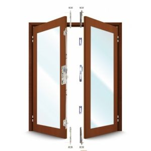 ERA French Door Kit For a pair of plain meeting style timber doors