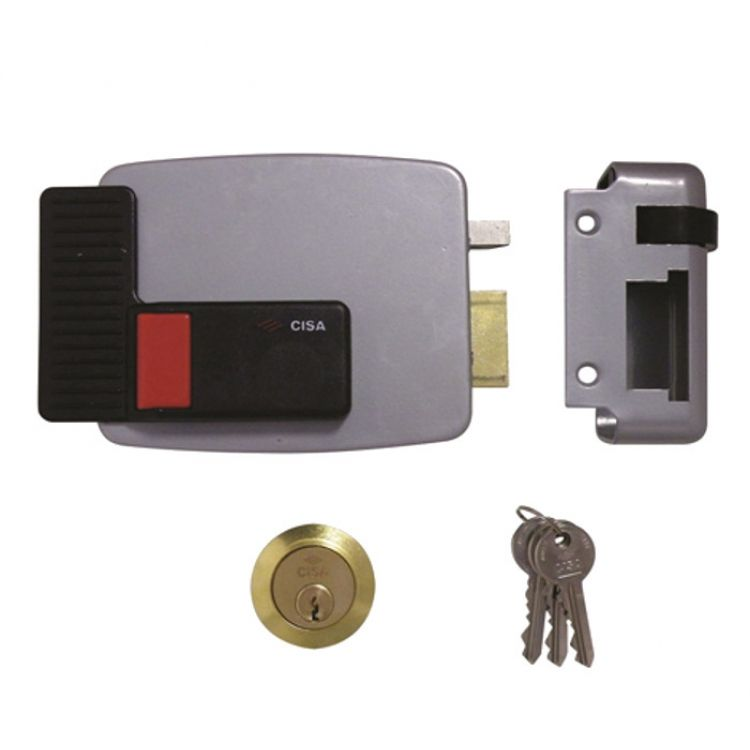 Cisa Electric Surface Lock with cylinder 3 keys(11610)
