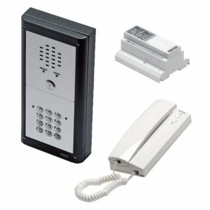 Door Entry System VR4K1S 1 Way Surface Mounted Audio Kit with Keypad by Videx Security