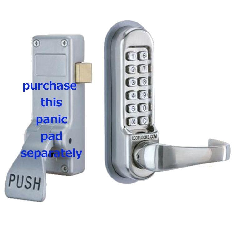 Codelock Digital Lock Suits Panic Bars On Fire Doors