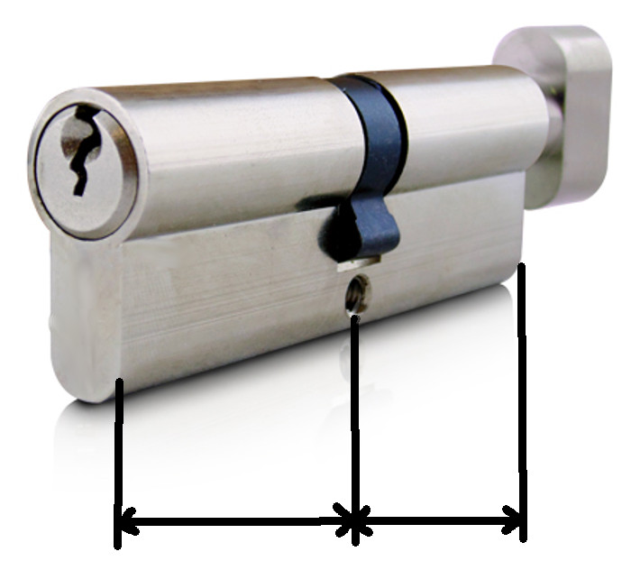 Astonishing How To Measure A Euro Cylinder Product Support Door Handles Collection Dhjemzonderlifede
